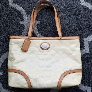 Coach mini tote handbag